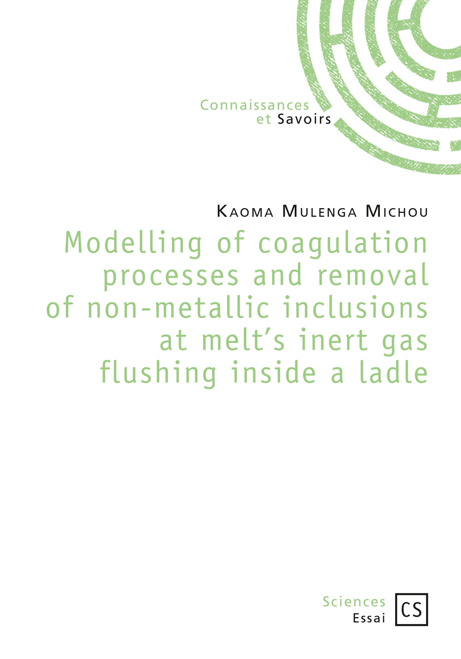 Modelling of coagulation processes and removal of non-metallic inclusions at melt's inert gas flushing inside a ladle