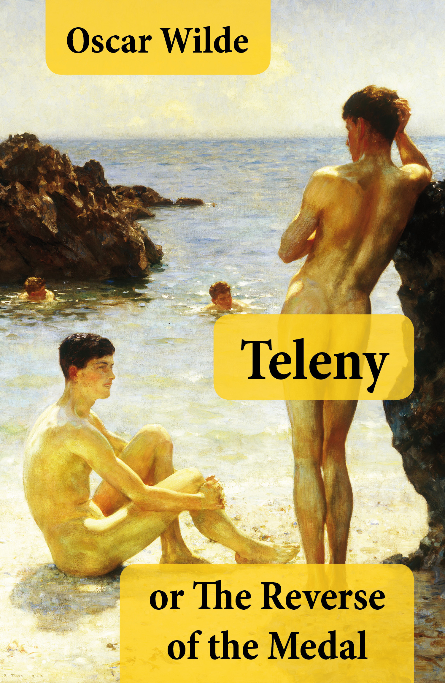 Teleny, or The Reverse of the Medal (A Gay Erotica Classic attributed to Oscar Wilde)