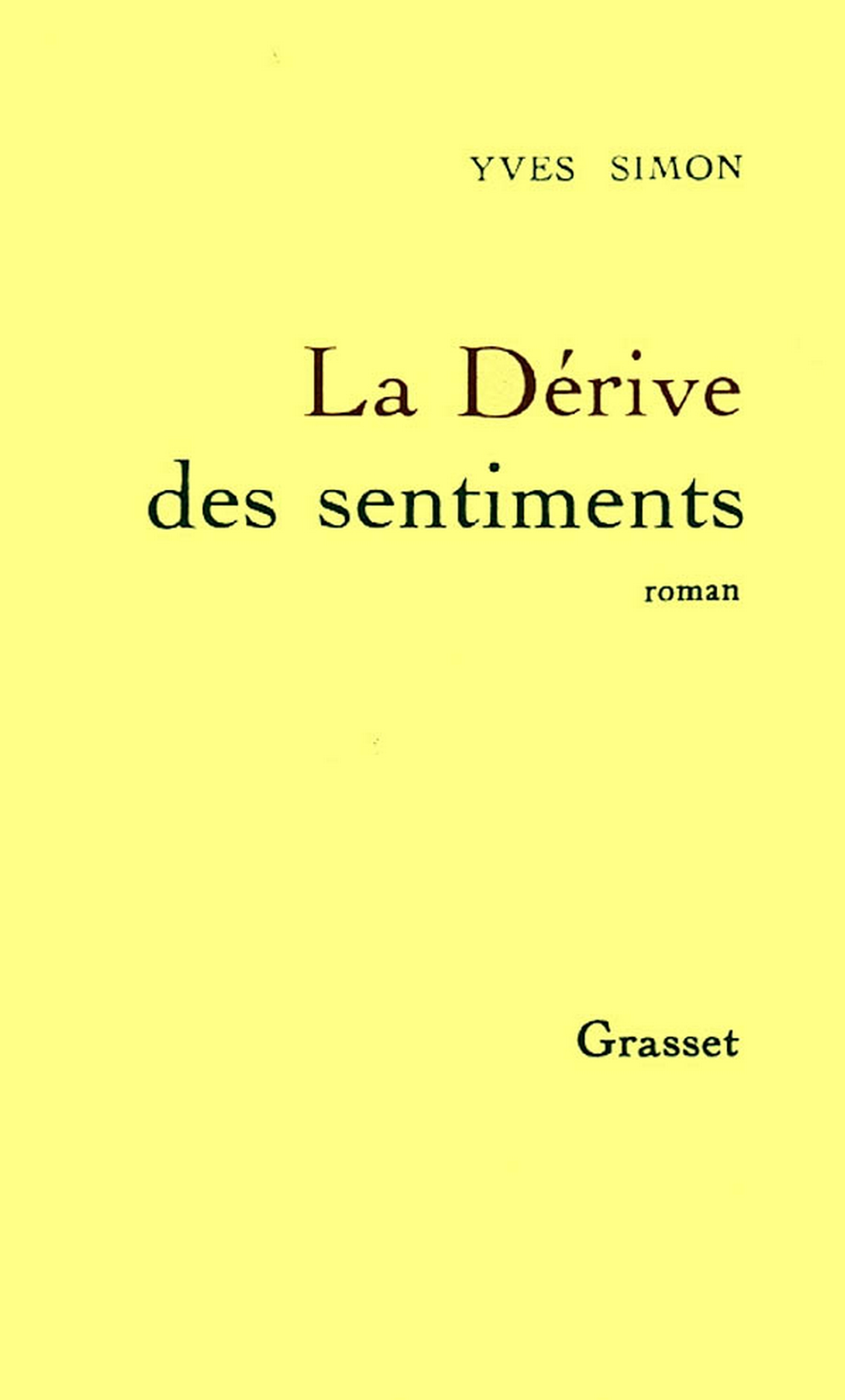 La dérive des sentiments