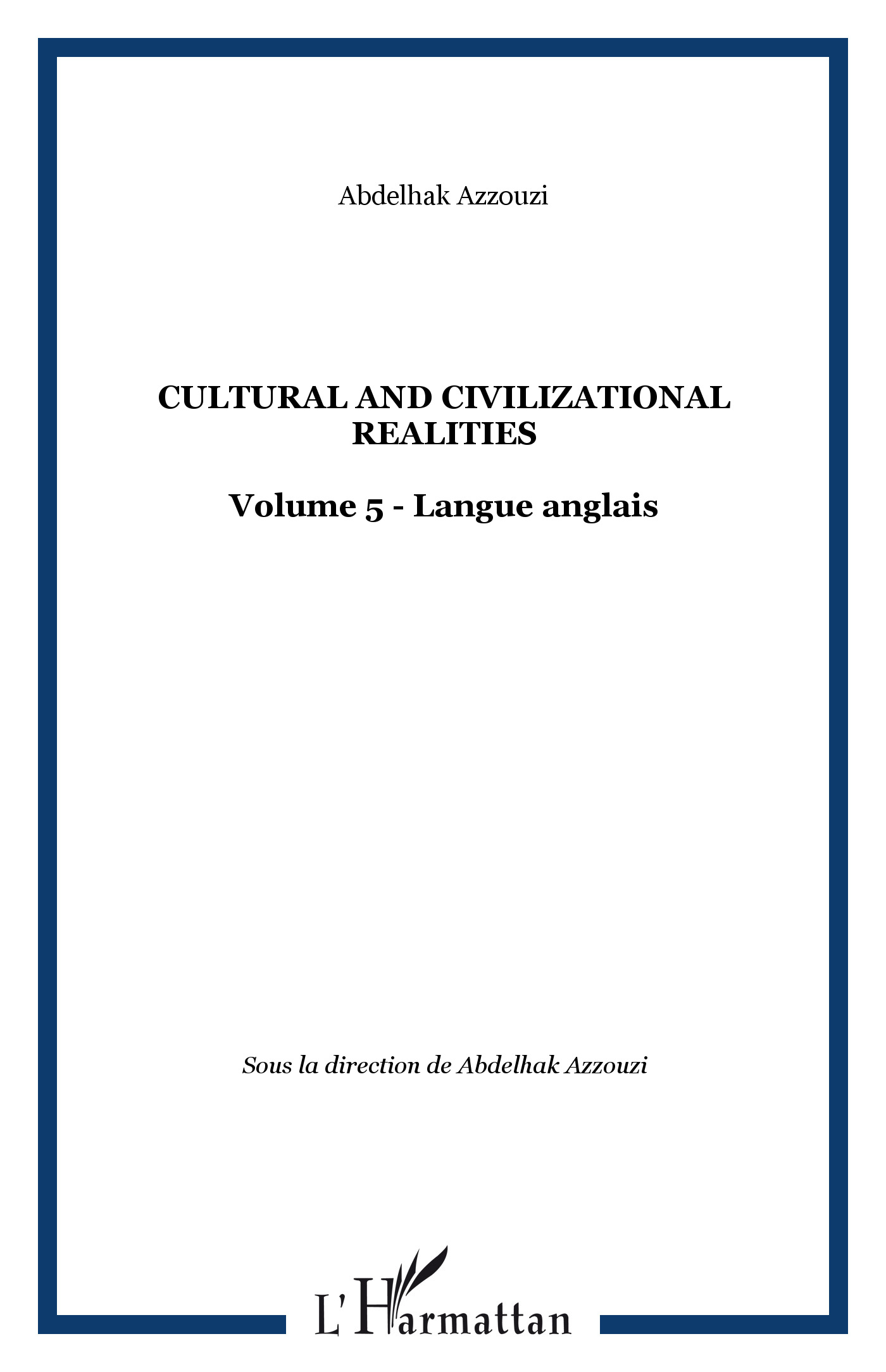 CULTURAL AND CIVILIZATIONAL REALITIES