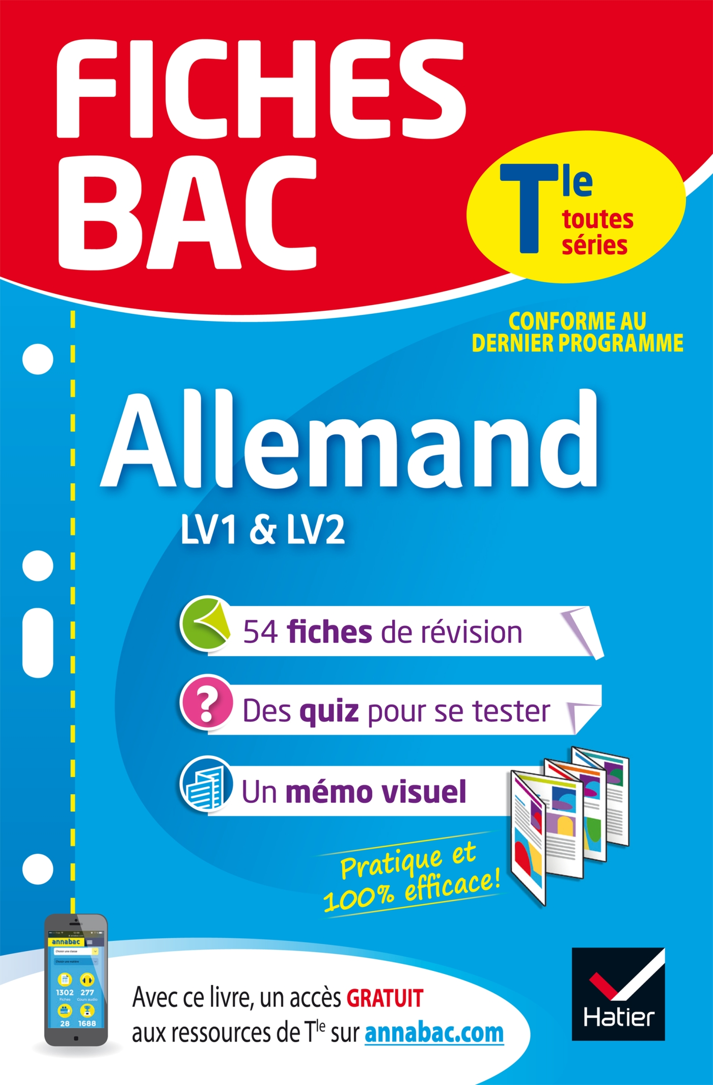 Fiches bac Allemand Tle (LV1 & LV2)