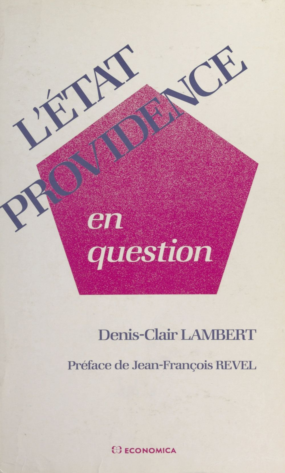 L'État-providence en question