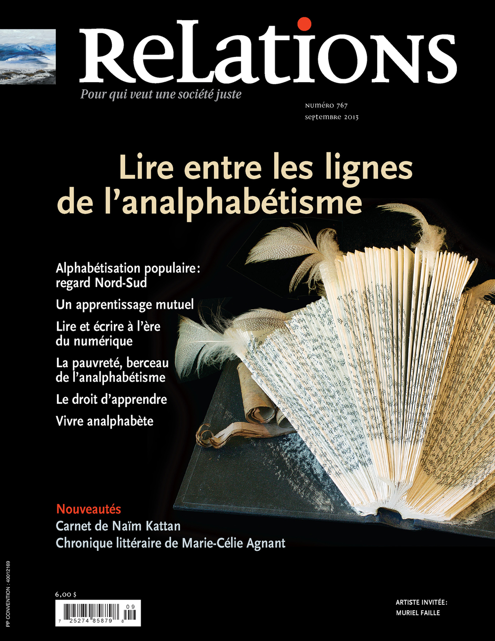 Relations. No. 767, Septembre 2013