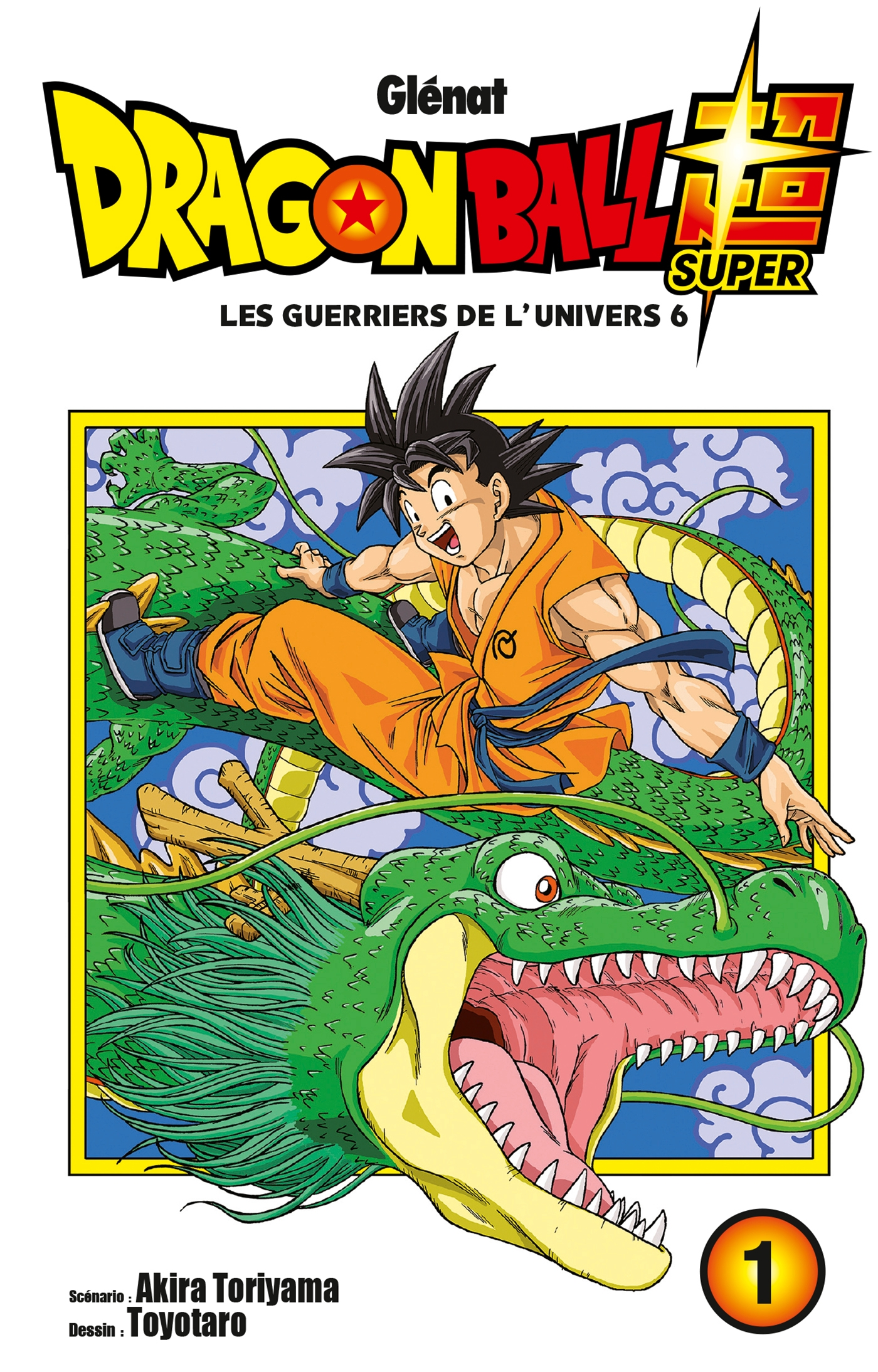 Dragon Ball Super - Tome 01
