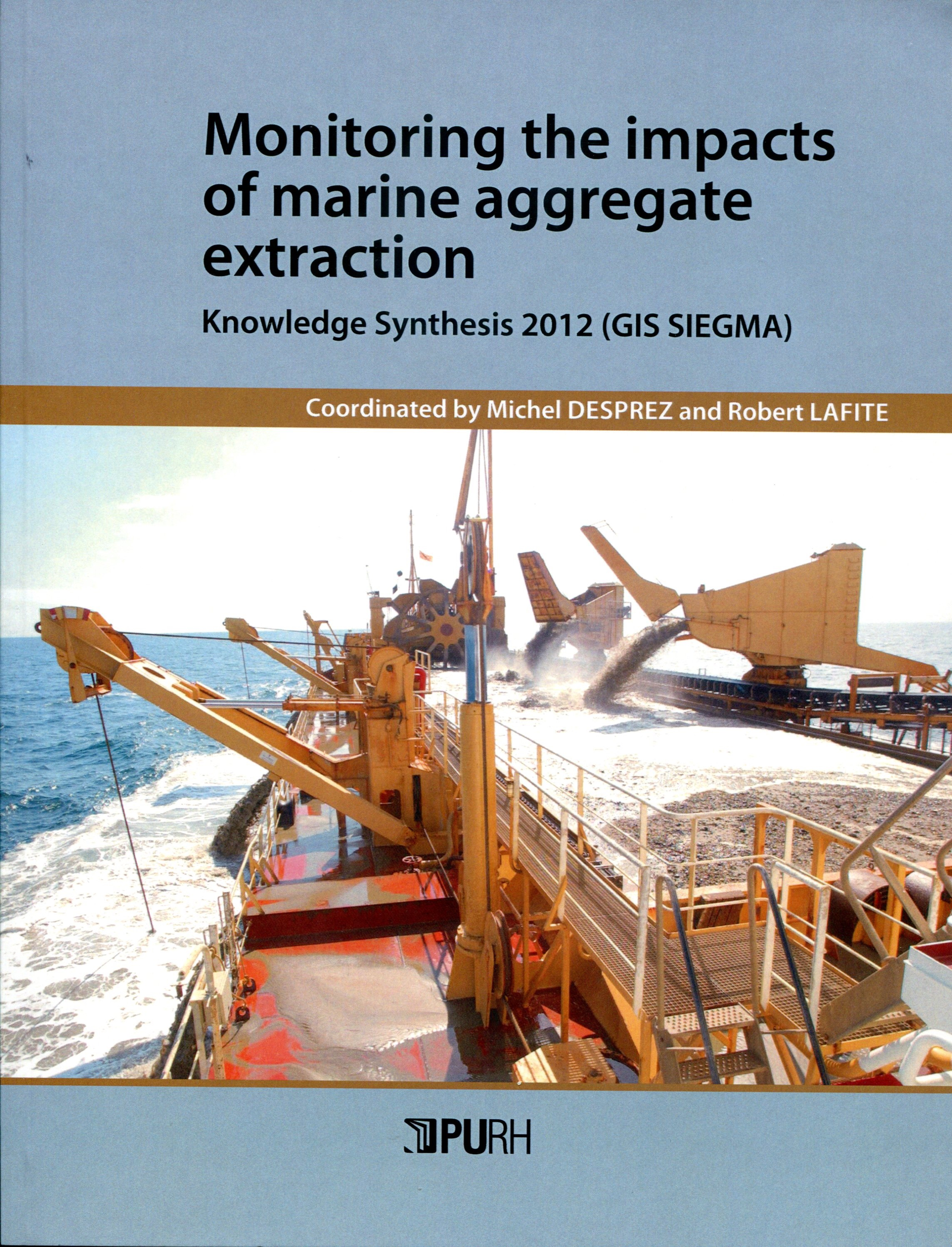 Monitoring the impacts of marine aggregate extraction