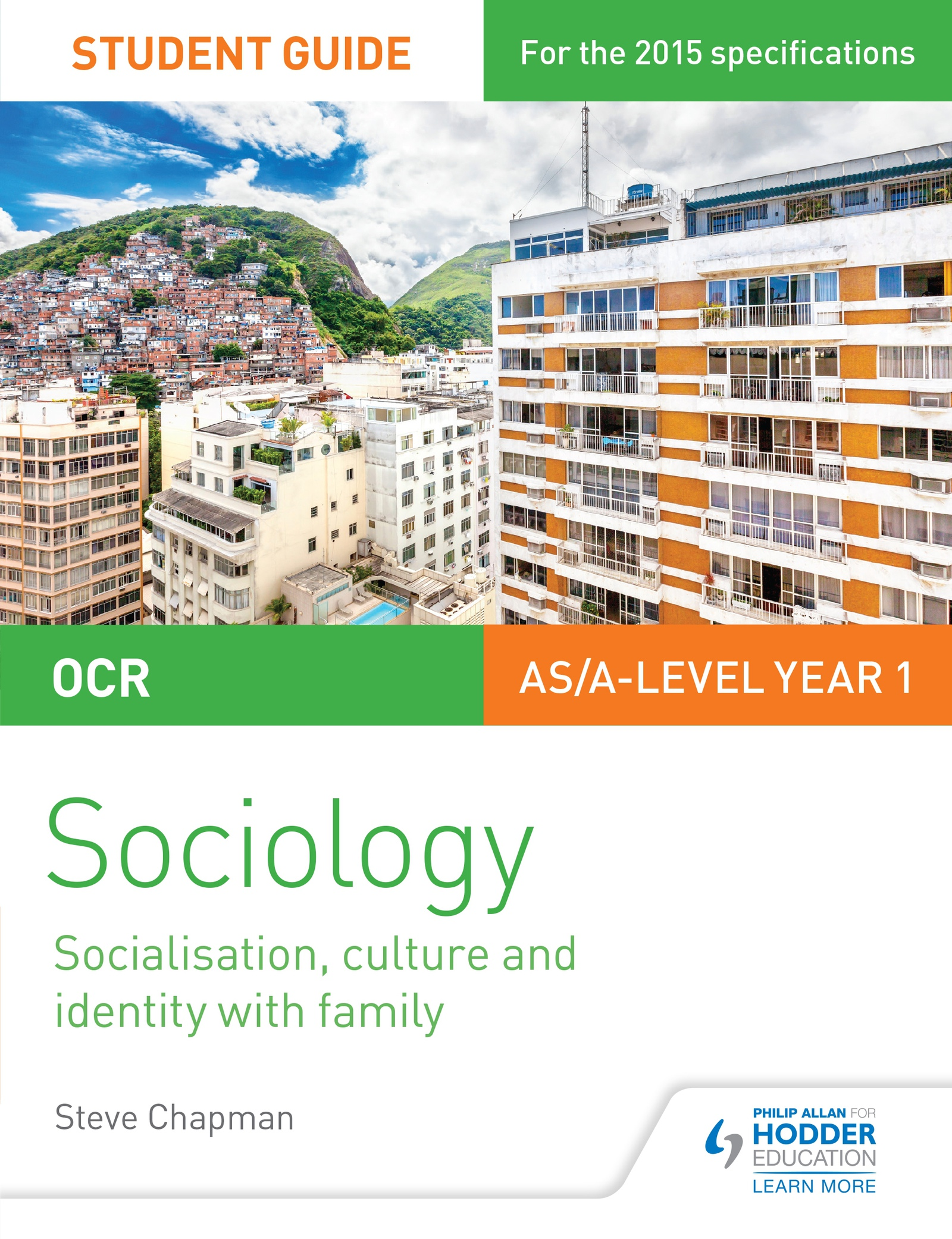 OCR A Level Sociology Student Guide 1: Socialisation, Culture and Identity with Family