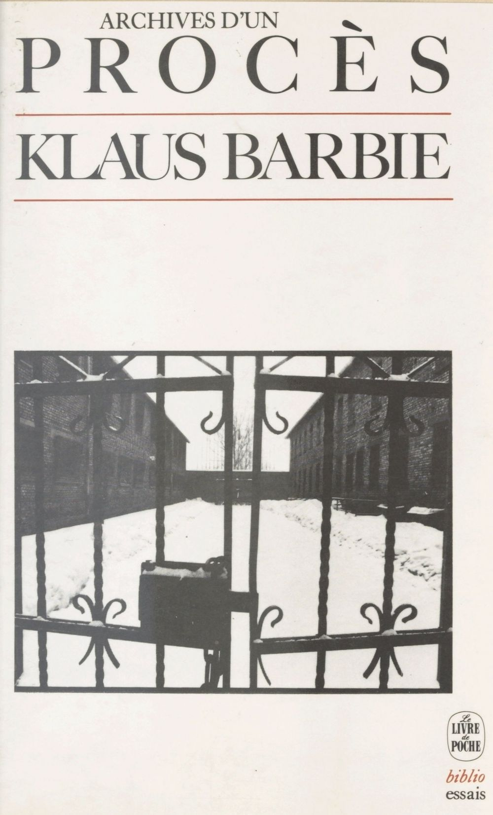 Klaus Barbie : archives d'un procès