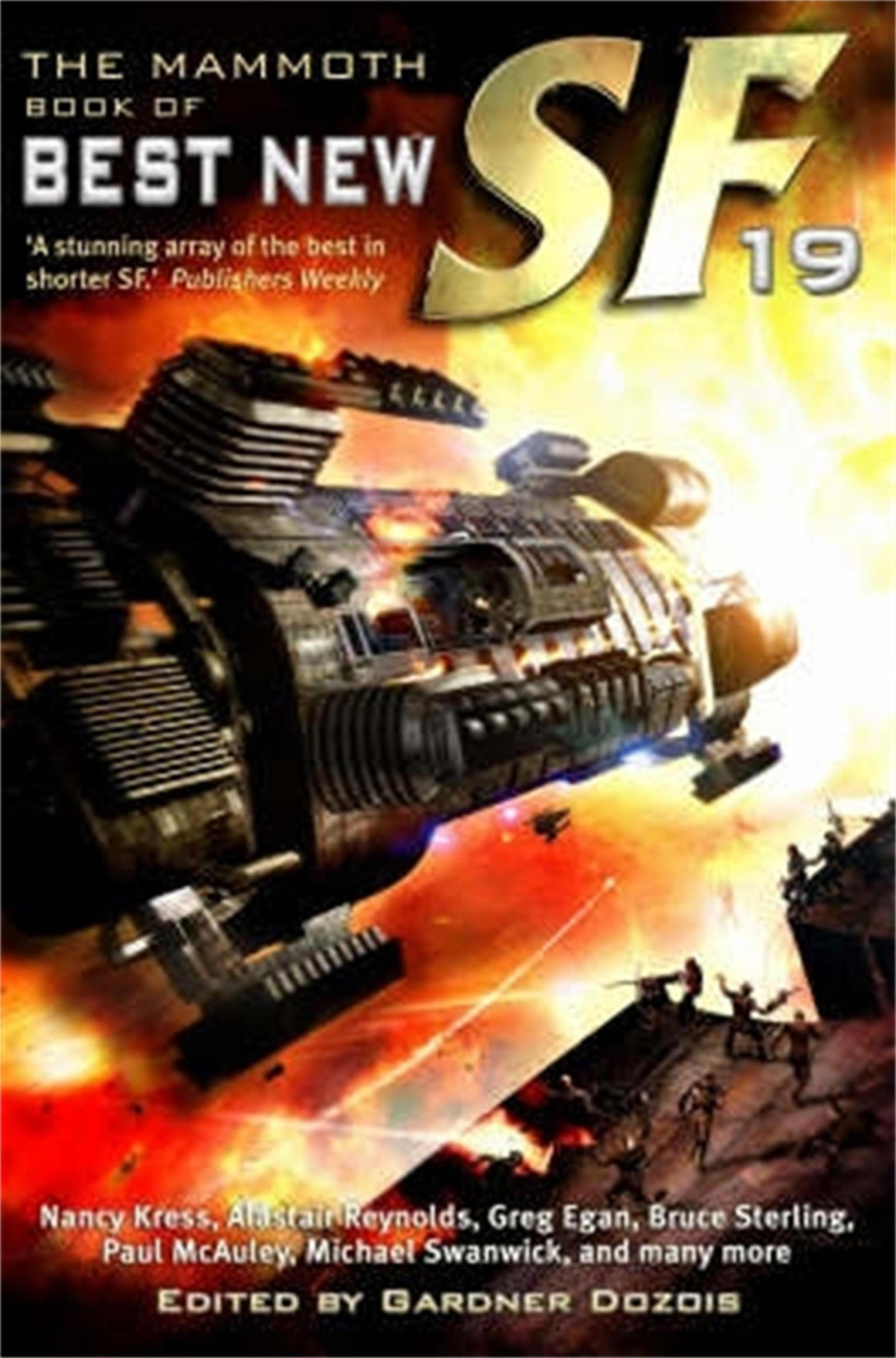 The Mammoth Book of Best New SF [19]