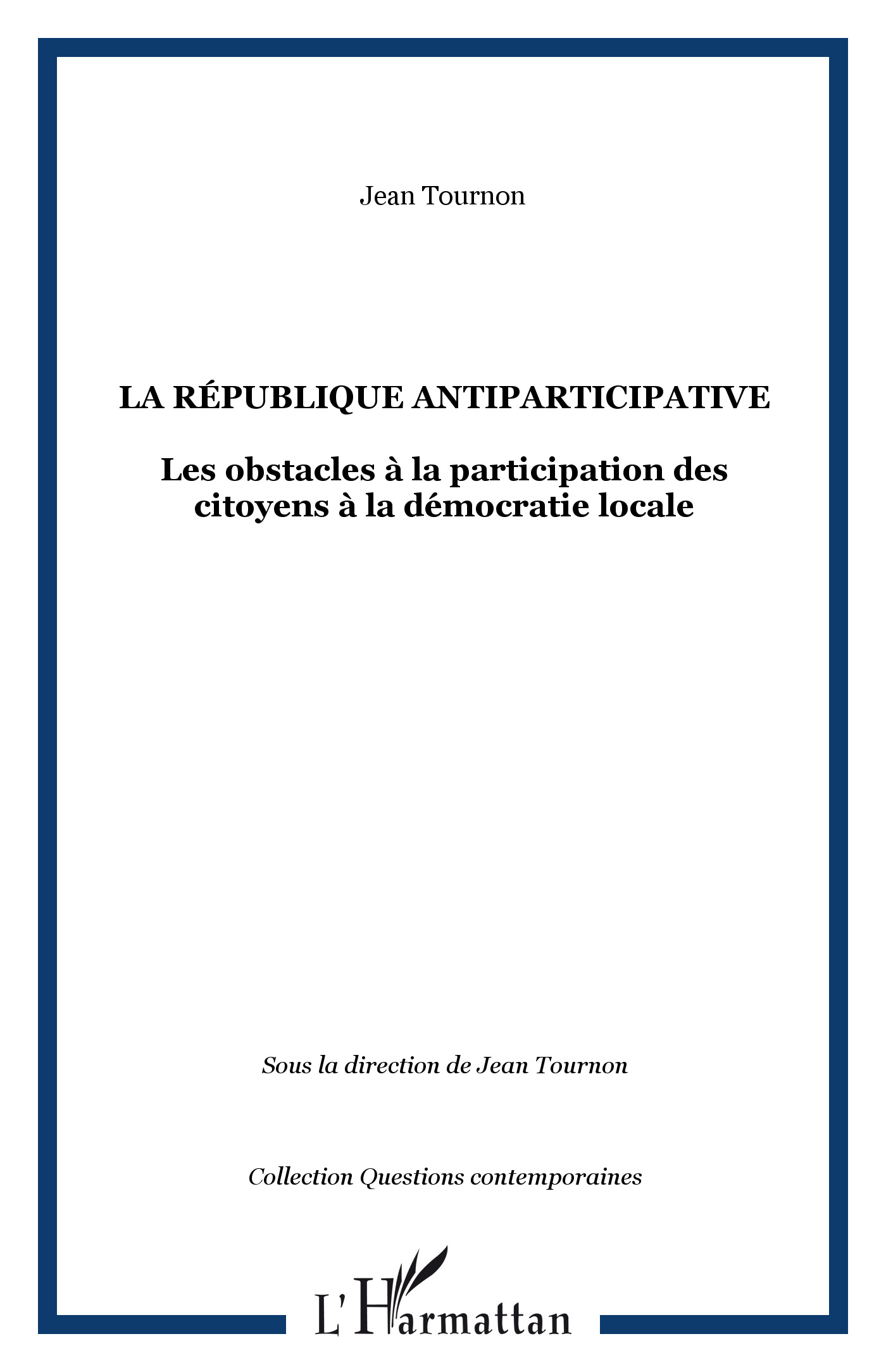 La République antiparticipative