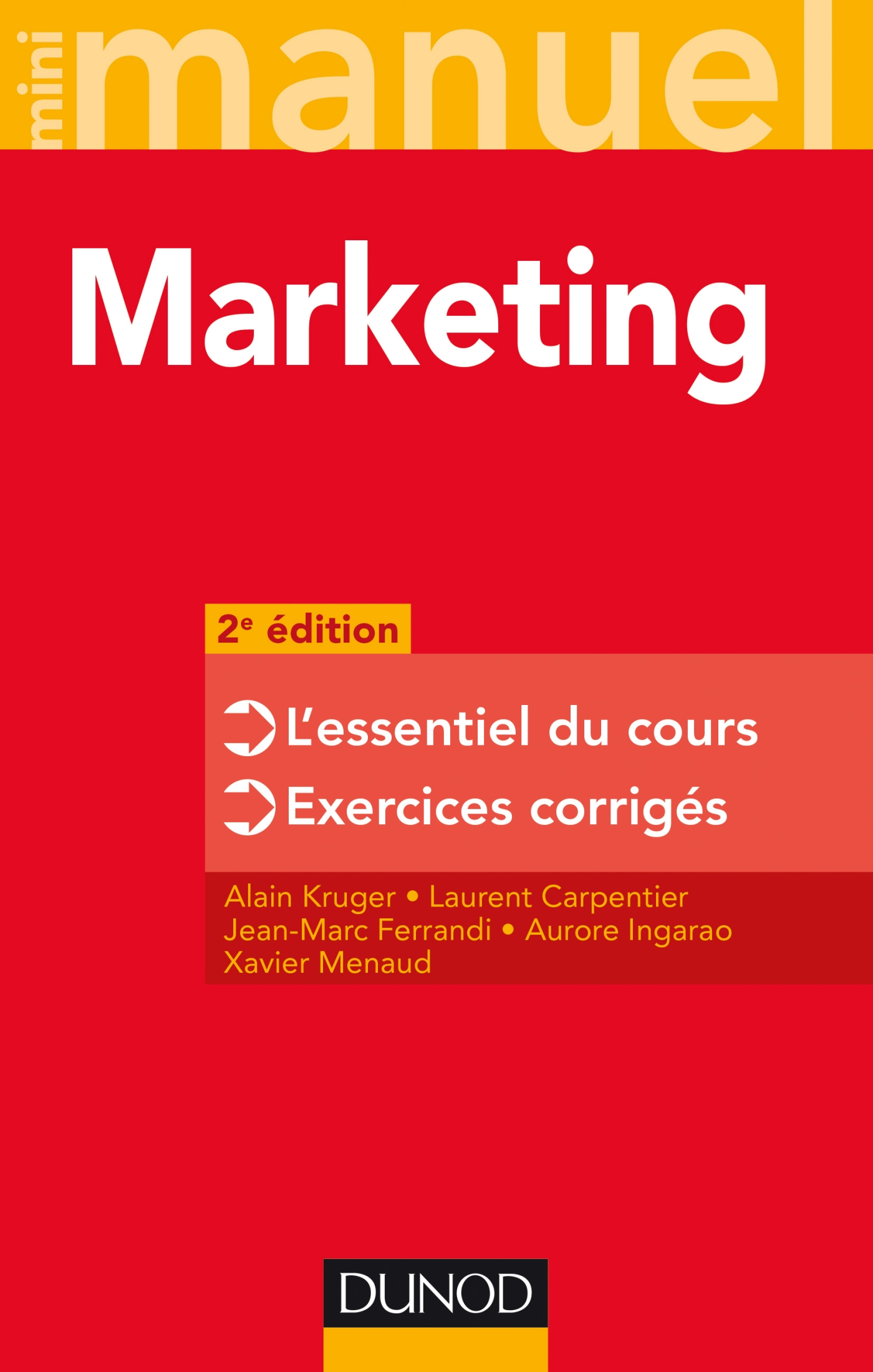 Mini Manuel - Marketing - 2e édition