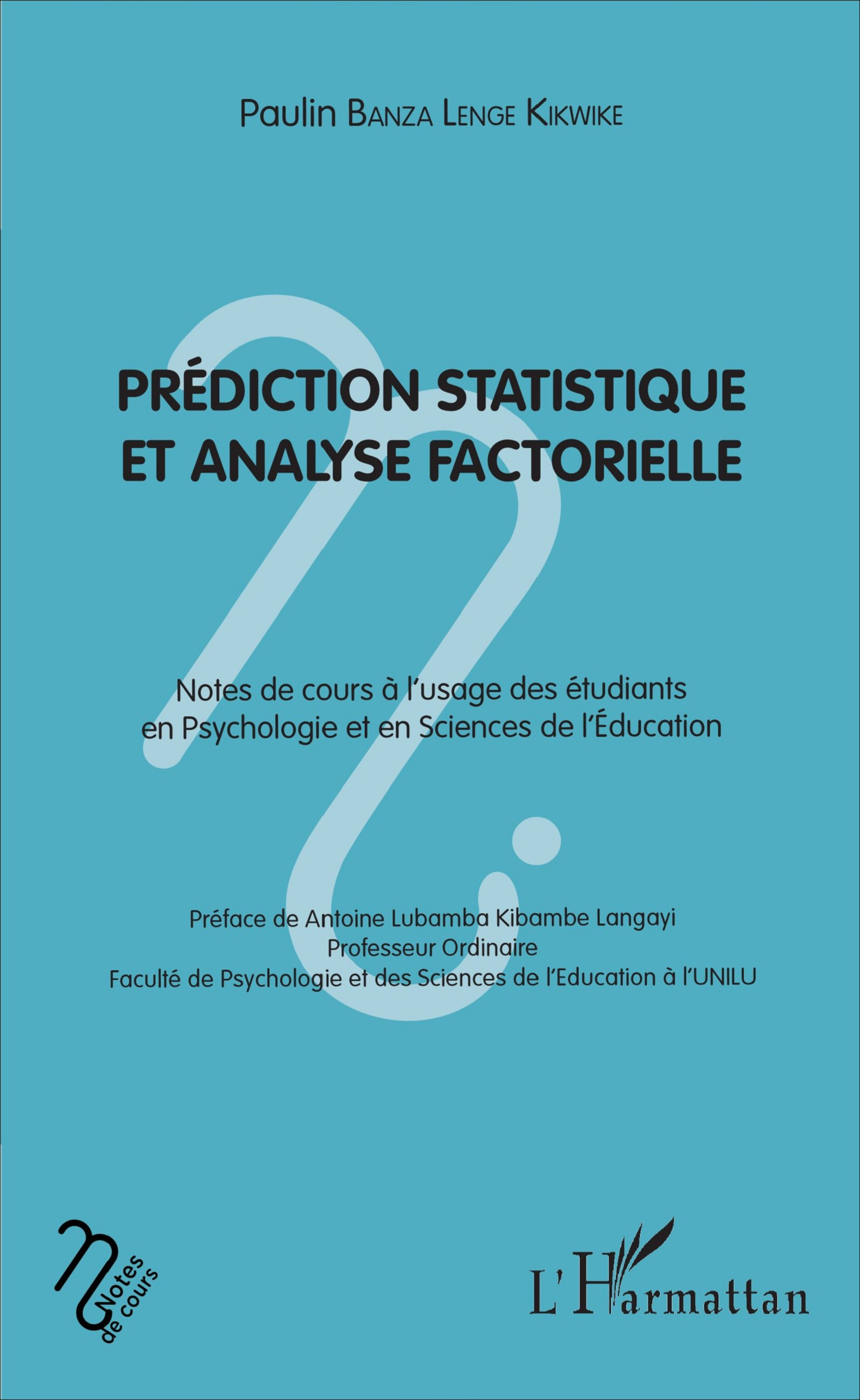 Prédiction statistique et analyse factorielle