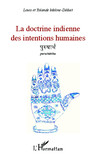La doctrine indienne des intentions humaines