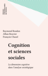 Cognition et sciences sociales