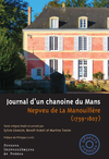 Journal d'un chanoine du Mans