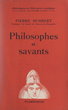 Philosophes et savants