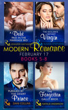 Modern Romance March 2017 Books 5 -8