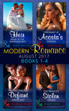 Modern Romance Collection: August 2017 Books 1 - 4