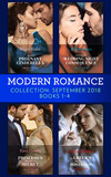 Modern Romance September 2018 Books 1-4