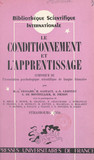 Le conditionnement et l'apprentissage