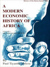 A modern economic history of Africa