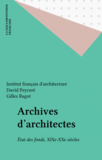 Archives d'architectes