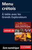 Menu crétois - A table avec les Grands Explorateurs