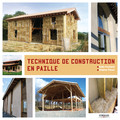 Techniques de construction en paille