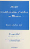 Analyse des anticipations d'inflation des ménages : France et États-Unis