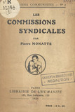 Les commissions syndicales