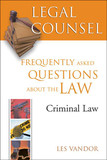 Legal Counsel, Book Four: Criminal Law