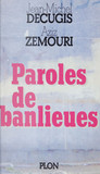 Paroles de banlieues