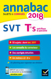 Annales Annabac 2018 SVT Tle S