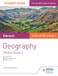 Edexcel AS/A-level Geography Student Guide 2: Globalisation; Shaping places