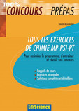 Tous les exercices de Chimie MP-PSI-PT