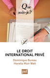 Le droit international privé