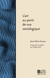 L'art au point de vue sociologique