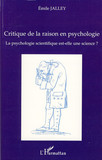 Critique de la raison en psychologie