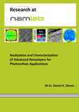 Realization and Characterization of Advanced Nanolayers for Photovoltaic Applications