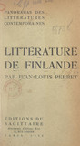 Panorama de la littérature contemporaine de Finlande