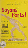 Soyons forts !