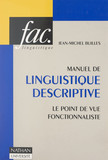 Manuel de linguistique descriptive