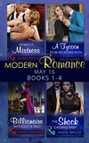 Modern Romance May 2016 Books 1-4