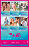 Medical Romance October 2016 Books 1-6