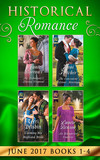 Historical Romance June 2017 Books 1 - 4