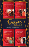 Desire Collection: January Books 1 – 4