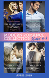 Modern Romance April 2019 Books  5-8