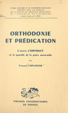 Orthodoxie et prédication