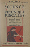 Science et technique fiscales (1)