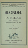 Blondel et la religion