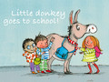 Little Donkey Goes to school
